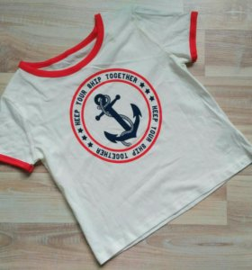 Новая футболка C&A.