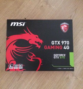 Nvidia GeForce GTX 970 MSI