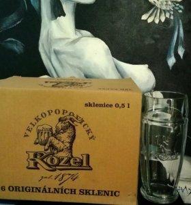 Бокалы Velkopopovicky kozel