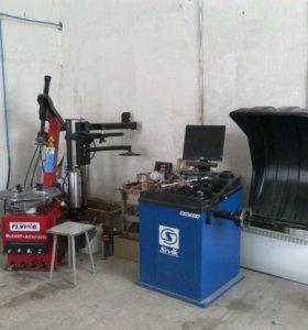 Оборудование для шиномонтажной мастерской