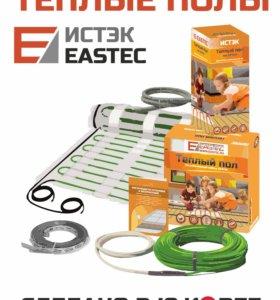 Комплект теплого пола на сетке EASTEC