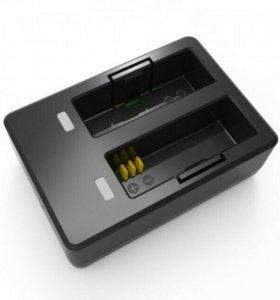 Зарядное устройство на 2 АКБ для SJCAM