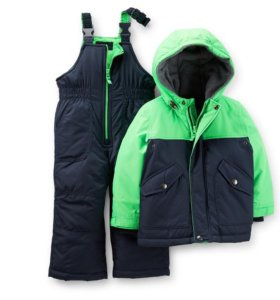 Утепленные куртка и полукомбинезон
