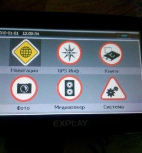 GPRS навигатор Explay PN-935
