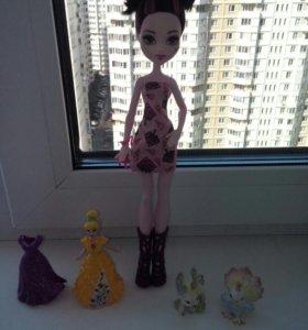 Кукла Монстр хай и др. игрушки.
