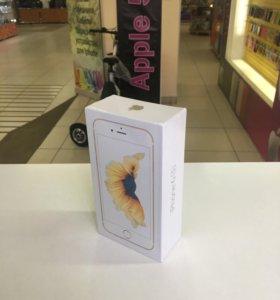 iPhone 6s, 16 , Gold, запечатанный, с отпечатком