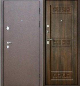 Входная дверь Толстяк венге/ сандал светлый
