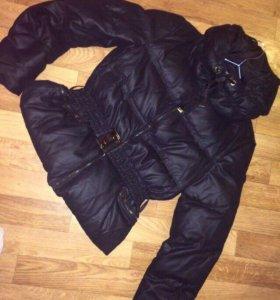Пуховик-куртка Zara women,52 р