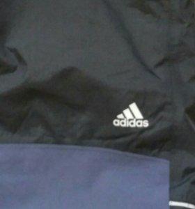 Фирменные зимние штаны adidas