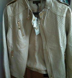 Куртка новая экокожа р 44