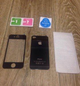 Защитное стекло на iPhone 4,4S