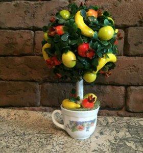 Топиарий фруктовое деревце
