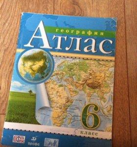 Атлас 6 класса по географии