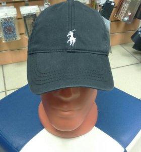 Бейсболка кепка Polo Ralph Lauren черная новая