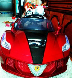 Детский автомобиль на аккумуляторе Феррари