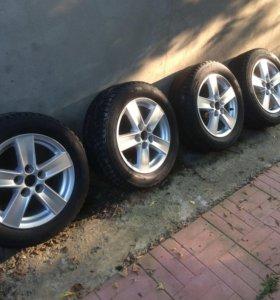 Продам колеса в сборе Mitsubishi Lancer 10