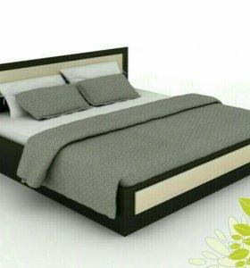 Кровать с матрасом 2х2