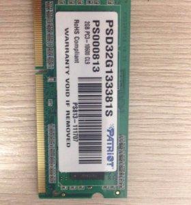 Оперативная память 2 Гб для нетбука