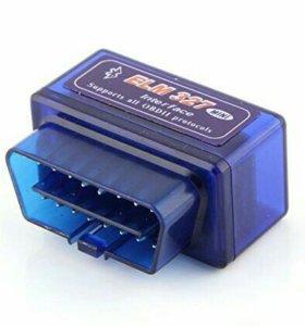 Диагностический адаптер elm327 и др.