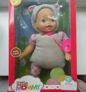 Мягкий пупс кукла Little Mommy Fisher Price