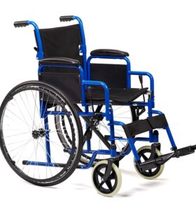 новая инвалидная коляска в упаковке