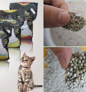 УНИКАЛЬНЫЙ кошачий наполнитель «BEST CLEAN»