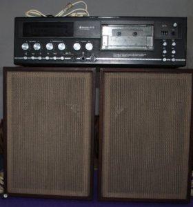 Магнитофон-приставка кассетный «Маяк-233-стерео»