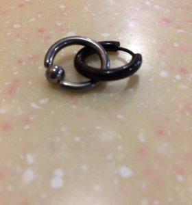 пирсинг кольца 12мм