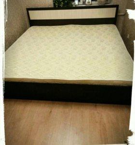Кровать с матрасом Лиана