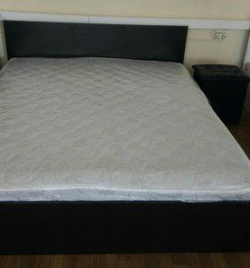 Кровать с матрасом Марс