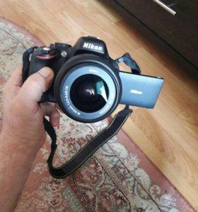 Nikon D5100 16.9мп. Full HD видео