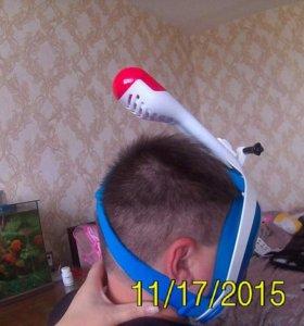 Полно-лицевая маска с трубкой
