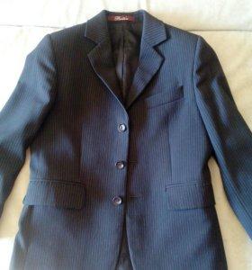 Пиджак школьный д/мальчика, ~р.134