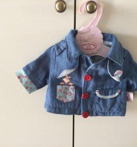 Пальто для кукол