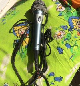 Продам проводной микрофон