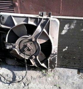 Радиатор ваз 2110 с вентилятором