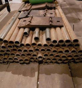 """труба стальная 1"""" дюйм (ду25) по 2 метра ОБМЕН"""