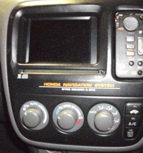 консосоль GPS -магнитола и пульт + ТВ-тюнер ЦРВ