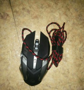Мышь игровая 3200точек и подсветка