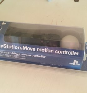 PlayStation Move motion controller в упаковке