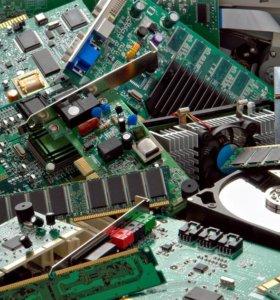 Продаю процессоры, материнские платы, блоки питания, жесткие диски и оперативную память