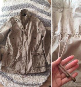 Женская куртка трансформер Mango