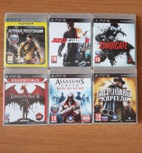 Игры на Sony PS 3