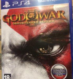Игра на PS4 God of War lll Обновлённая версия