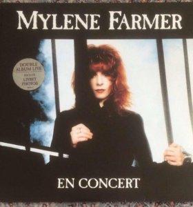 Mylene Farmer En Concert 2LP альбом ранних хитов