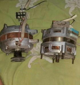 2 электро двигателя со стиральной машинки