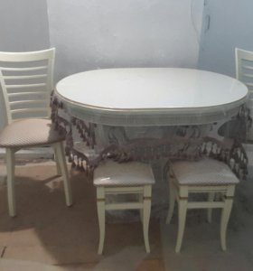 Стол 110 ,  120 , 130 * 90  ножка подиум