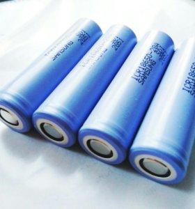 Аккумуляторы Li-ion 18650 Samsung 2800 mA/h