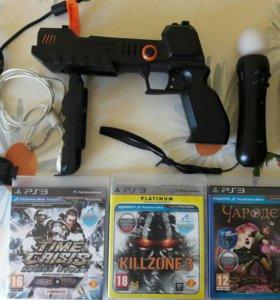 Комплект для активных игр с Мув на PS 3