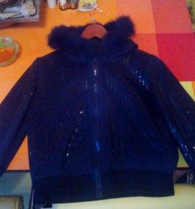 Куртка-ветровка-бомбер